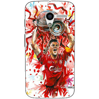 EYP Liverpool Gerrard Back Cover Case For Moto X (1st Gen)