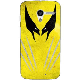 EYP Superheroes Wolverine Back Cover Case For Moto X (1st Gen)