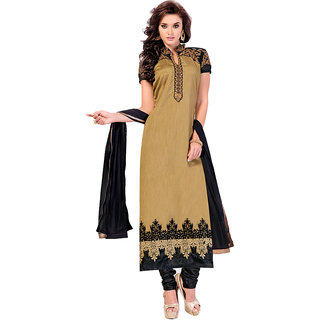 Brown Color Georgettte Designer Salwar Kameez