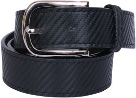 Formal Leatherite Belts (lead free, Scartch Free)- Black Rope