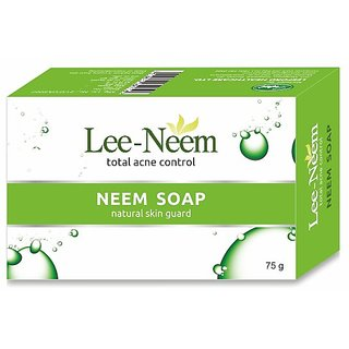 Lee-Neem acne control Neem soap(set of 20 pcs.)75 gms each