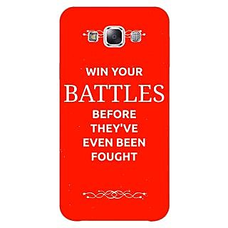 EYP SUITS Quotes Back Cover Case For Samsung A8