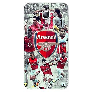 EYP Arsenal Therry Henry Back Cover Case For Samsung A8