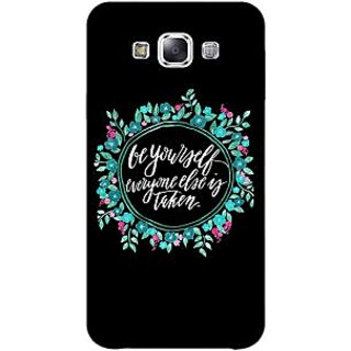 EYP Quotes Be yourself Back Cover Case For Samsung Grand Max