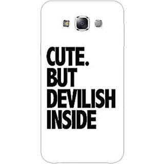 EYP Quote Back Cover Case For Samsung Grand Max