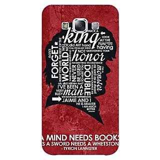 EYP Game Of Thrones GOT House Lannister Tyrion Back Cover Case For Samsung Grand Max