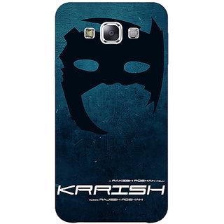 EYP Bollywood Superstar Krrish Back Cover Case For Samsung A8