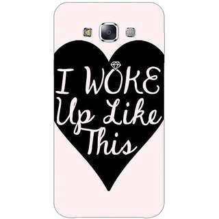 EYP Quotes Beautiful Back Cover Case For Samsung A8