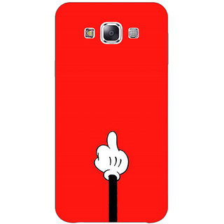 EYP Mickey Mouse Back Cover Case For Samsung A8