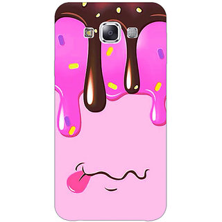 EYP Ice cream Back Cover Case For Samsung A8