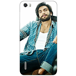 EYP Bollywood Superstar Ranveer Singh Back Cover Case For Huawei Honor 6