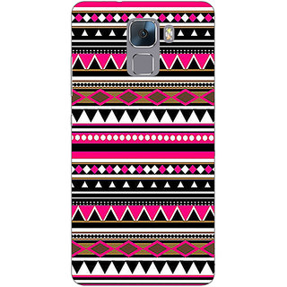 EYP Aztec Girly Tribal Back Cover Case For Huawei Honor 7