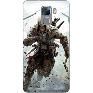 EYP Assassins Creed Back Cover Case For Huawei Honor 7