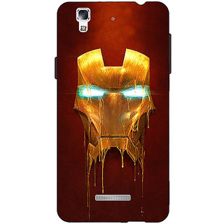 EYP Superheroes Ironman Back Cover Case For Micromax Yu Yureka