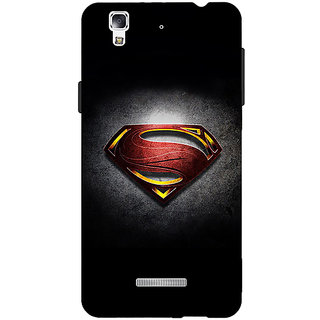 EYP Superheroes Superman Back Cover Case For Micromax Yu Yureka