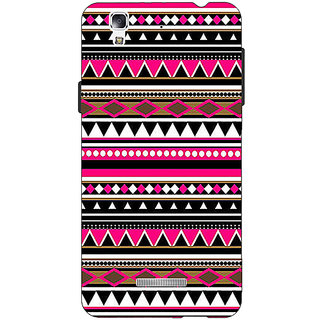 EYP Aztec Girly Tribal Back Cover Case For Micromax Yu Yureka