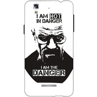 EYP Breaking Bad Heisenberg Back Cover Case For Micromax Yu Yureka