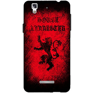 EYP Game Of Thrones GOT House Lannister  Back Cover Case For Micromax Yu Yureka