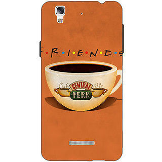 EYP FRIENDS Back Cover Case For Micromax Yu Yureka