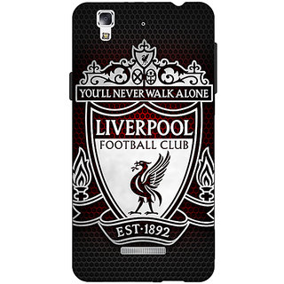 EYP Liverpool Back Cover Case For Micromax Yu Yureka