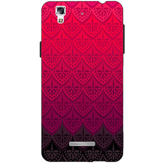 EYP Shades Of Pink Back Cover Case For Micromax Yu Yureka