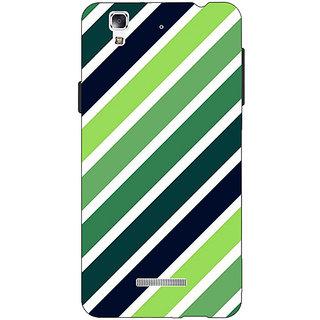 EYP Stripes Pattern Back Cover Case For Micromax Yu Yureka