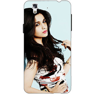 EYP Bollywood Superstar Alia Bhatt Back Cover Case For Micromax Yu Yureka