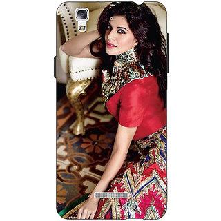 EYP Bollywood Superstar Jacqueline Fernandez Back Cover Case For Micromax Yu Yureka