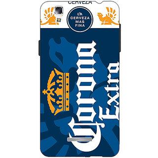 EYP Corona Beer Back Cover Case For Micromax Yu Yureka