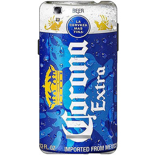 EYP Corona Beer Back Cover Case For Micromax Yu Yureka