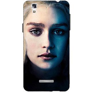 EYP Game Of Thrones GOT Khaleesi Daenerys Targaryen Back Cover Case For Micromax Yu Yureka