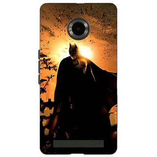 EYP Superheroes Batman Dark knight Back Cover Case For Micromax Yu Yuphoria