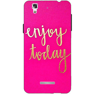 EYP QQQQ Back Cover Case For Micromax Yu Yureka