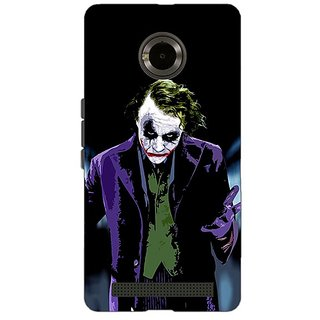 EYP Villain Joker Back Cover Case For Micromax Yu Yuphoria