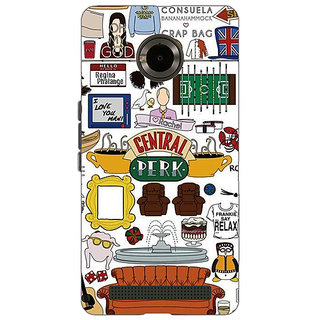EYP TV Series FRIENDS Back Cover Case For Micromax Yu Yuphoria