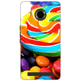 EYP Candies Back Cover Case For Micromax Yu Yuphoria