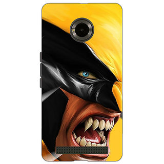 EYP Wolverine Hugh Jackman Back Cover Case For Micromax Yu Yuphoria