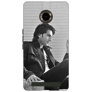 EYP Bollywood Superstar Ranveer Singh Back Cover Case For Micromax Yu Yuphoria