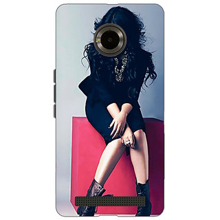 EYP Bollywood Superstar Sonakshi Sinha Back Cover Case For Micromax Yu Yuphoria