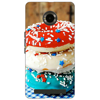EYP Donuts Back Cover Case For Micromax Yu Yuphoria