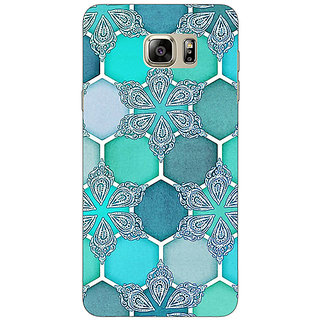 EYP Floral Hexagons Pattern Back Cover Case For Samsung Galaxy Note 5