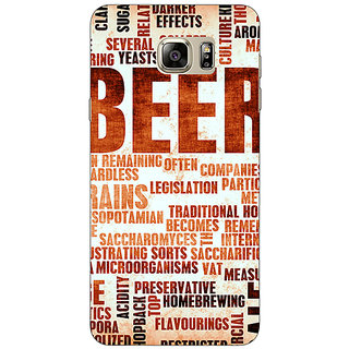 EYP Beer Quote Back Cover Case For Samsung Galaxy Note 5