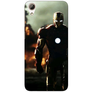 EYP Superheroes Ironman Back Cover Case For HTC Desire 626