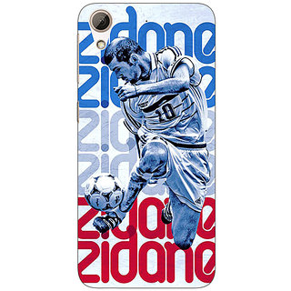 EYP Real Madrid Zidane Back Cover Case For HTC Desire 626