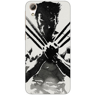EYP Wolverine Hugh Jackman Back Cover Case For HTC Desire 626