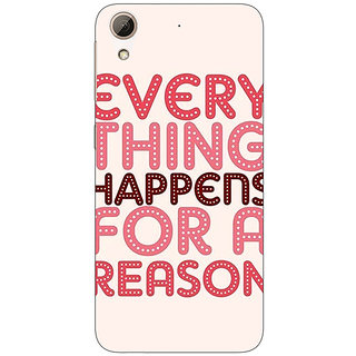EYP Good Quote Back Cover Case For HTC Desire 626