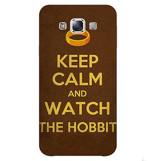 EYP LOTR Hobbit  Back Cover Case For Samsung Grand Max