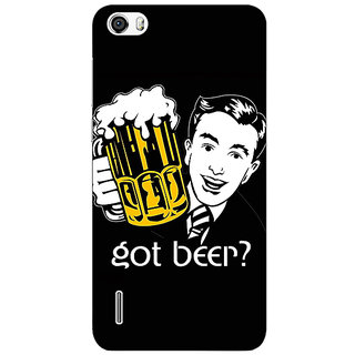EYP Beer Quote Back Cover Case For Huawei Honor 6