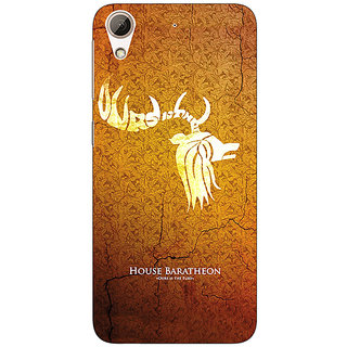 EYP Game Of Thrones GOT House Baratheon  Back Cover Case For HTC Desire 626G