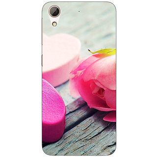 EYP Hearts Back Cover Case For HTC Desire 626